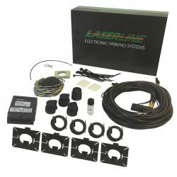 Kit Sensores Estacionamento LASERLINE de 4 Sensores